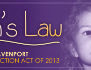 Kilah's Law header image featuring photo of Kilah Davenport