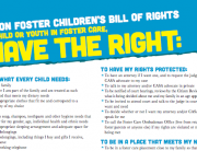Snapshot of Oregon's Foster Children's Bill of Rights