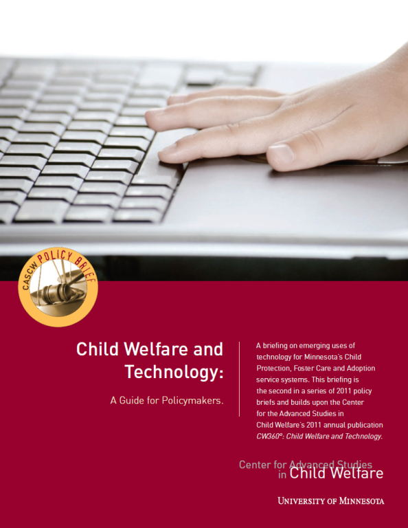 technology – Center for Advanced Studies in Child Welfare