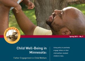 Father Engagement policy brief cover
