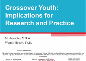 screenshot preview for crossover youth module